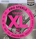 D'Addario EPS170-6SL E-Bass Saitensatz 6-Saiter 0,08 cm - 0,33 cm (.030 - .130 Zoll)