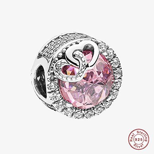 MOCCI 2018 per-Herbst Sammlung Blendend Liebe Vogel Perle 925 Silber DIY Passt für Original Pandora Armbänder Charme Modeschmuck -