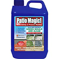 Patio Magic Green Mould and Algae Killer Liquid Concentrate Bottle