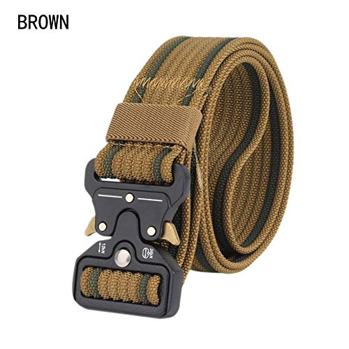 ishine Tactical Gürtel Military Nylon Gürtel Belt Schnellverschluss Verstellbarer Herren Security Utility Combat Gear Duty Nylon Gürtel Trainingssportgürtel (Duty Belt Gear)