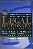Engish-Spanish Legal Dictionary