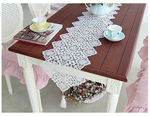 QiangZi Table Coureurs Dentelle Treillis Salon Cuisine Bureau Table À Thé, Armoire À Chaussures, Et TV Stand \\