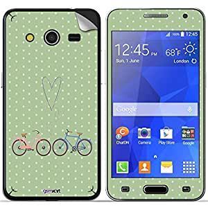 GsmKart SGC2 Mobile Skin for Samsung Galaxy Core 2 (Green, Galaxy Core 2-632)