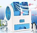 Condizionatore Portatile, (Tuyere regolabile) Personale Refrigeratore d'Aria Mobile Ventilatore USB,3 In 1 Mini Air Cooler Umidificatore Purificatore Aria, Per Casa/Ufficio/Campeggio