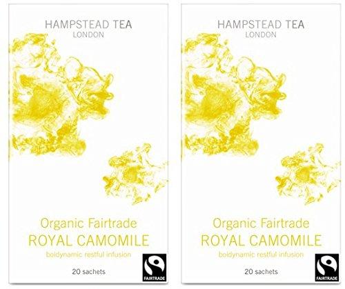 (2er BUNDLE)  Hampstead Tea - Royal Camomile -20bag