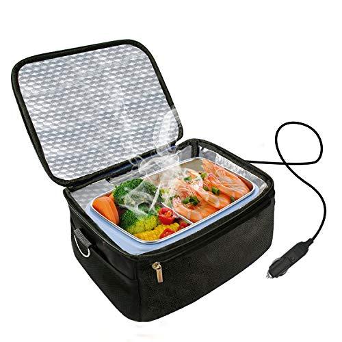 Calentador de horno y almuerzo portátil para automóvil de 12 V -...