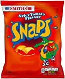 Smiths Snaps Crisp and Light Potato Snacks, Spicy Tomato Flavour 21 g (Pack of 30)