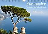 Kampanien - Monumente und Naturlandschaften (Wandkalender 2020 DIN A4 quer): Kampanien - Monumente und Naturlandschaften: Die berühmte Westküste ... (Monatskalender, 14 Seiten ) (CALVENDO Orte) - Juergen Schonnop