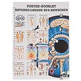 Naturheilkunde des Menschen Mini-Poster Booklet Anatomie 34x24 cm, 12 Poster