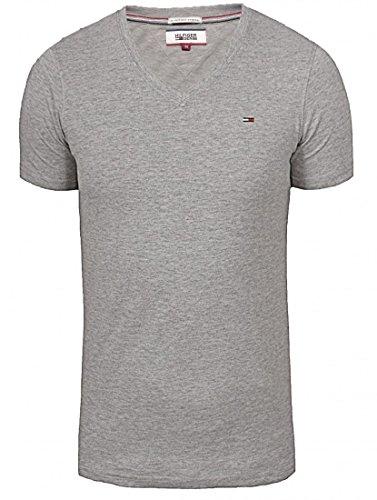 Tommy Hilfiger Denim Panson Vneck Herren T-shirt Grau