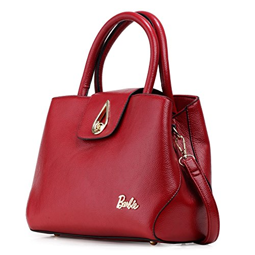 Barbie Borsa a Tracolla e a Mano conSerratura da OL Donna Ragazza dalla Serie di Ritorno in PU Colore Nero Blu Rosso Grigio #BBFB591 Rosso 2018 Barato Unisex IRmJ1rg