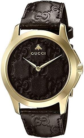 Gucci Unisex Erwachsene-Armbanduhr YA1264035