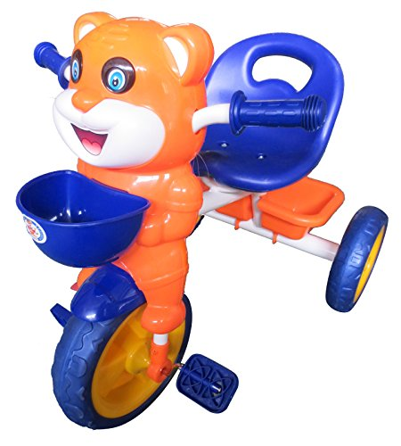 HLX-NMC HAPPY TIGER KIDS TRICYCLE - BLUE/ORANGE(EASY ASSEMBLY EDITION)  available at amazon for Rs.1675