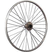 Taylor Wheels 28 pollici ruota posteriore bici mozzo Shimano cassetta 7 argento