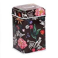 CARMANI - Motif inspiré de la nature, Collectibles Mini Métal Bibelot Tobacco Candy Tin Boîte a bijoux Piece de monnaie Thé Conteneur Micro Trésor Boîte de rangement avec des couvercles