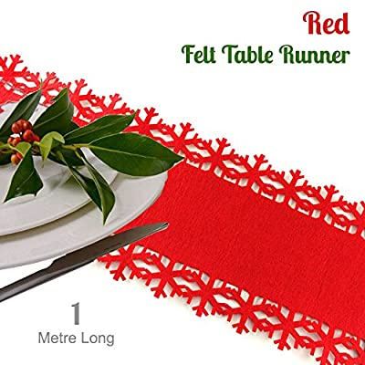 Felt Table Runner - Excellent way of protecting your table from heat and stains - low-cost UK light store.