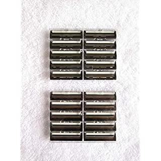 20 Taconic Shave Twin Blade Razor Cartridges, compatible with Gillette G2, Trac2, Atra, Vector and Contour Razors - Made in the USA