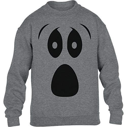 Grusel Kostüm Halloween Kostüme Kinder Pullover Ghost Kinder -