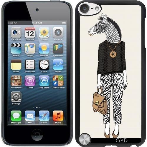 Hülle für Ipod Touch 5 - Hipster Zebra Frau by Olga Angelloz Design