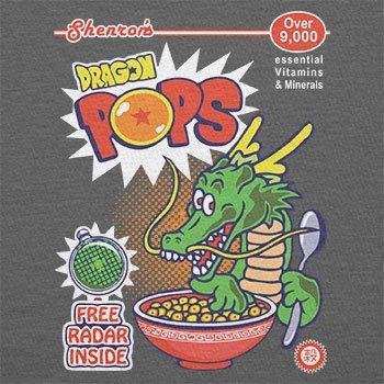 TEXLAB - Dragon Pops - Damen T-Shirt Grau