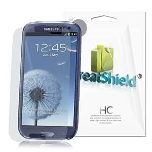 GreatShield Ultra Smooth Clear Screen Protector Film for Samsung Galaxy S3 S III i9300 (3 Packs)