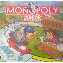 Monopoly Junior - Specially Designed for Ages 5 to 8. by Parker Brothers