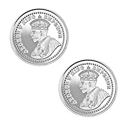 Pure Silver Coin 999 fineness Lot of 2 pcs of 20 gram each