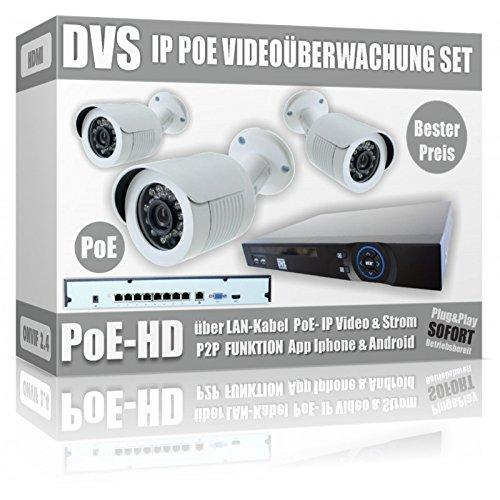 Juego-de-Vigilancia-IP-con-3-Cmaras-IP-PoE-Bullet-Incluye-NVR-y-PoE-Switch--1000-GB