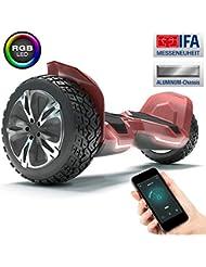 """Bluewheel HX510 Premium 8.5"""" Hoverboard Offroad SUV; Deutsche Qualitäts Marke; Kinder Sicherheitsmodus & App - Bluetooth; Starker Dual Motor; Aluminium Case Elektro Skateboard Self Balance Scooter"""