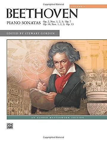 Beethoven: Piano Sonatas Volume 1 (Nos. 1-8) (Alfred Masterwork Editions)