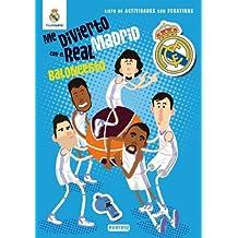 Me divierto con el Real Madrid. Baloncesto: Libro de actividades con pegatinas (Real Madrid / Libros de actividades con pegatinas)