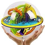 Eleganantimpresionante Bola de Inteligencia 3D estéreo Orbit 3D Laberinto Pelota niños Juguetes educativos