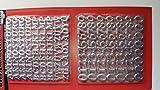 Wachsdekor , Buchstaben und Zahlen in silber ,A-Z, 90 Buchstaben, 0-9 =68Ziffern , Buchstaben 10 x 2 mm , Zahlen 14 x 2 mm in silber.