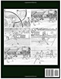 BADMINTON Coloring book for Adults Relaxation Meditation Blessing 40 Grayscale images: Sketch coloringbook  40 Grayscale Images