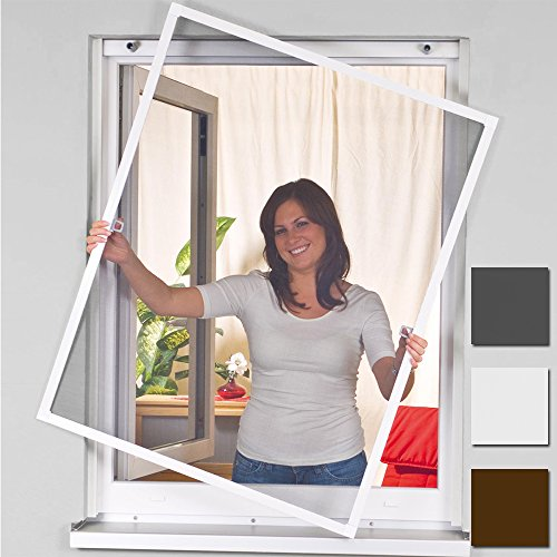 mosquito-insect-fly-net-screen-100x140cm-flyscreen-aluminum-window-frame-kit-white