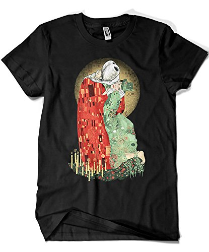 Herren T-Shirt schwarz Schwarz Small ()