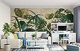 WH-PORP Benutzerdefinierte 3D Tapete Fototapete Tropische Pflanze Green Leaf Vineyard Wandbild Hintergrund Wall Tapete für die Wände 3d-128cmX100cm