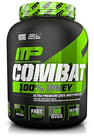 MusclePharm Combat 100% Whey, Chocolate Milk, 5 pounds