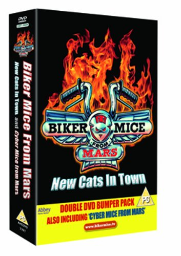 New Cats In Town / Cyber Mice From Mars (2 DVDs)