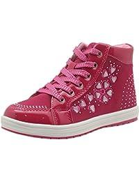 Best-choise Stivaletti da Bambina Toddler/Little Kid Sneaker con Lacci e Chiusura Laterale con Cerniera (Color : rosa, Size : 30 EU)