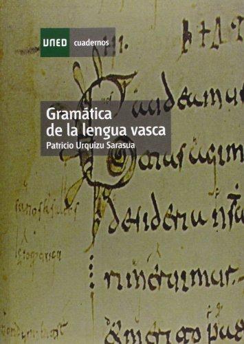 Gramática de La Lengua Vasca (CUADERNOS UNED)