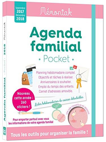 Agenda familial Mmoniak pocket 2017-2018