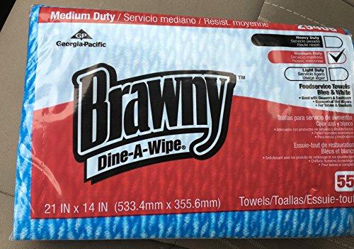 gpc29408-brawny-dine-a-wipe-foodservice-towels-14-x-21-blue-white-hydroknit-by-brawny