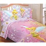 Disney Fairies Tinkerbell Whimsy Tink Full Juego de sábanas