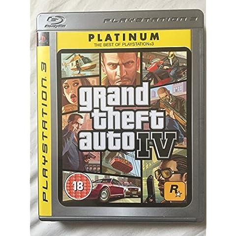 Grand Theft Auto IV - Platinum Edition (PS3) [Importación inglesa]