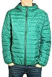 Giubbino Piumino DIADORA Uomo 100 Grammi Full Zip Cappuccio 3 Colori Art.174 ( Green Verdant - L / 50)