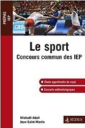 Le sport: Concours commun des IEP