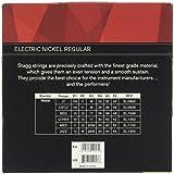 Stagg EL-1046 Nickel Plated Budget Jeu de cordes pour Guitare électrique 10-46