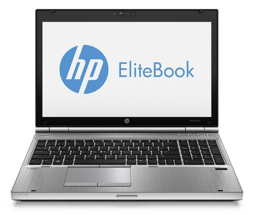 HP B6Q01EA#ABD EliteBook 8570P 39,6 cm (15,6 Zoll) Laptop (Intel Core i7 3520M, 2,9GHz, 4GB RAM, 500GB HDD, AMD HD 7570M, DVD, Win 7 Pro) schwarz