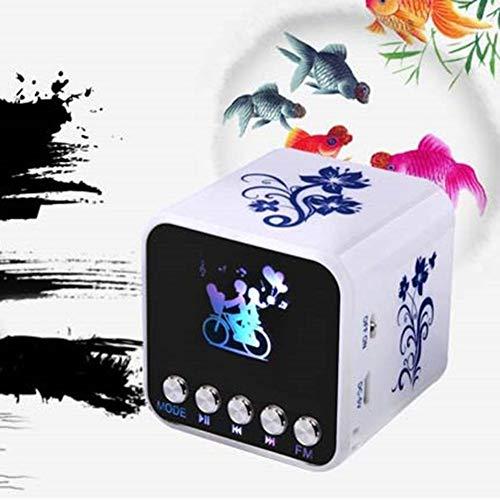 Lautsprecher Mini, Super-Tragbarer Bluetooth-Lautsprecher Dual-Driver-Stereo-Sound Verbesserter Bass, Noise-Cancelling-Mikrofon